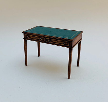 Writing Table with Leather Top