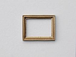 Small Rectangular Frame in Gilt finish