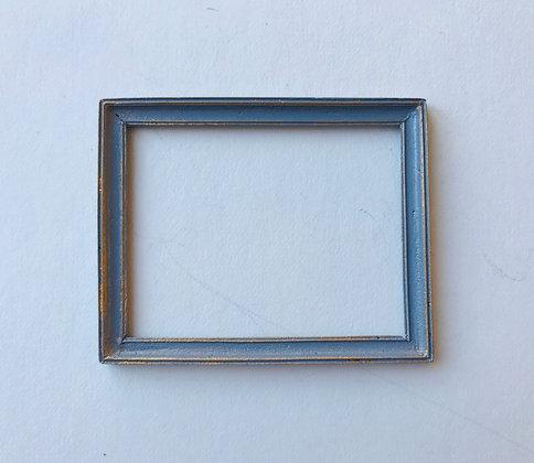 Rectangular Frame in Grey and Gilt Finush