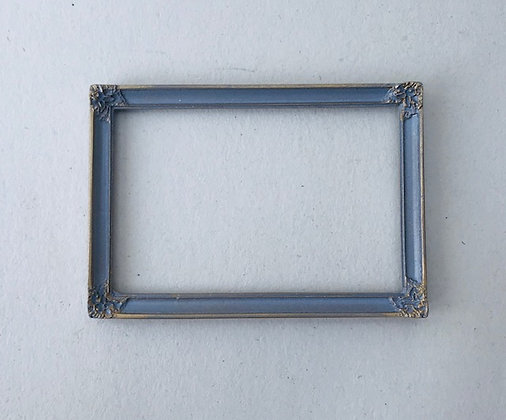 Rectangular Frame in Grey and Gilt Finish