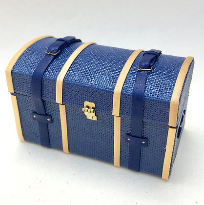 Domed Trunk with Tray by the Luggage Lady