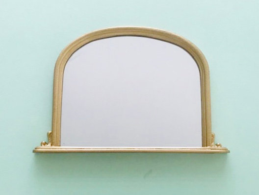 Overmantle in Gilt Frame