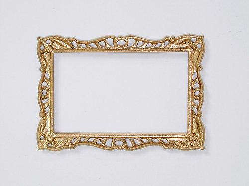 Pierced Frame in Gilt Finish