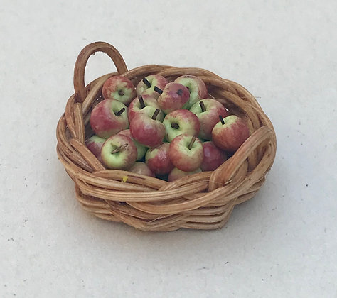 Basket of Apples by Et Cetera