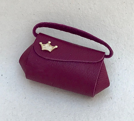 Red Handbag by The Luggage Lady