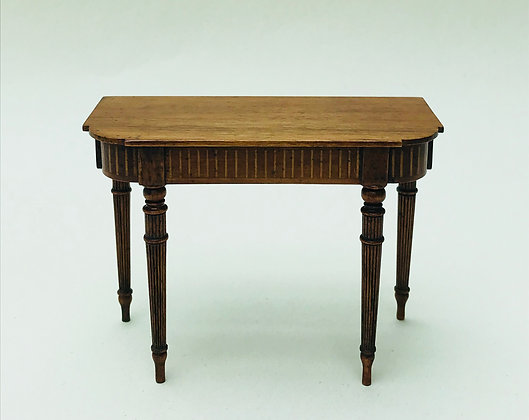 Sidetable with Turned Tapered Legs