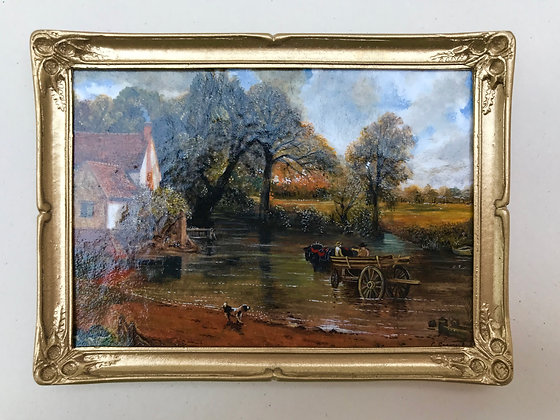 The Haywain Painted by Chris Sparrow