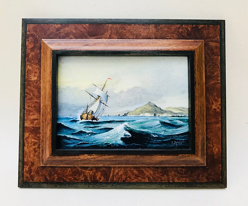 Seascape Painted by Chris Sparrow