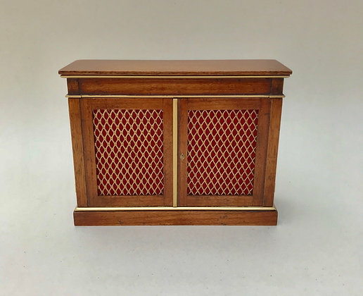 Side Cabinet with Grills