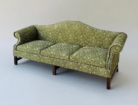 Georgian Sofa with Camel Back