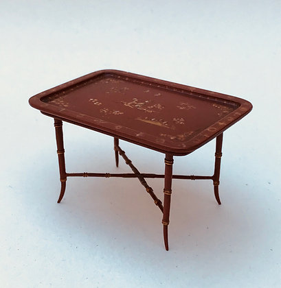 Red Tray Table