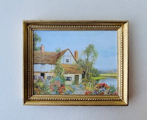 Framed Print-Cottage