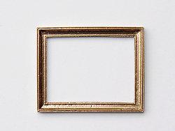 Rectangular Frame in Gilt finish