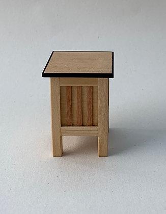 Modern Rustic  Linen Box