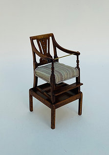 Georgian Child's Chair on Stand