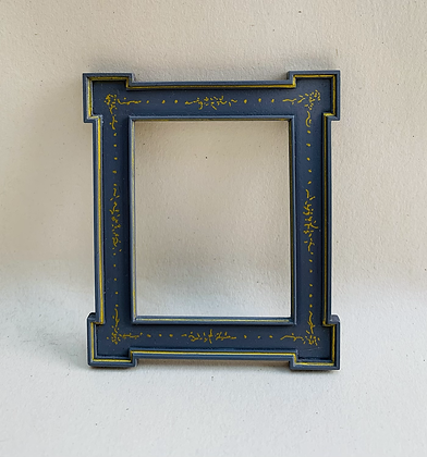 Grey  and Gilt Picture Frame