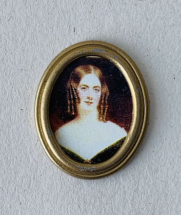 Small Oval Portrait