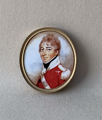 Portrait in Oval Frame