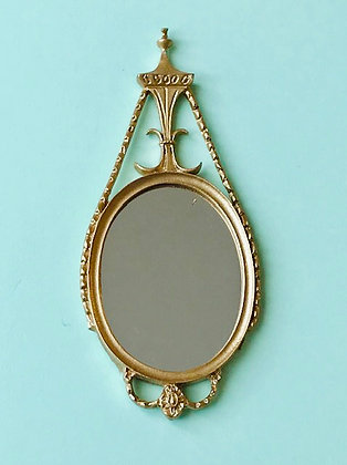 George 111 Mirror in Gilt