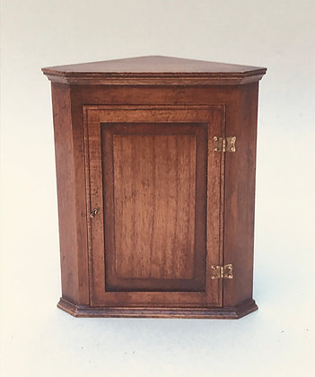 Corner Cupboard with Solid Door