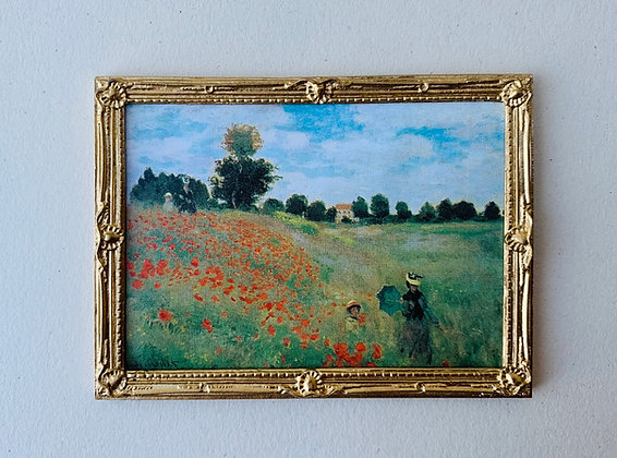 Framed Print -Poppyfields