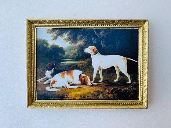 Framed Print -Dogs