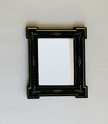 Black and Gilt Picture Frame