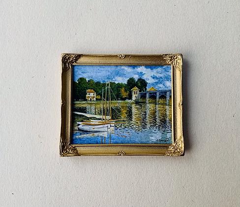 The Bridge at Argenteuil by  Chris Sparrow