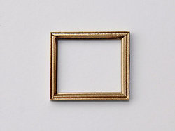 Small Rectangular Frame in Gilt finish