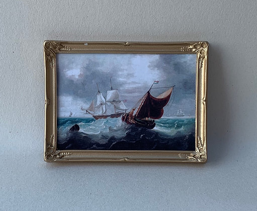 Framed Print-Seascape