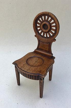 Georgian Wheelback Hall Chair