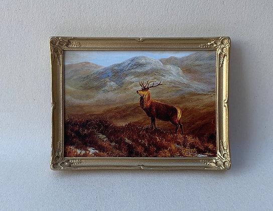 Framed Print- Highland Scene