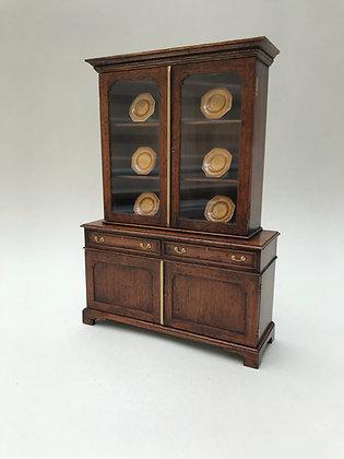Glazed Cabinet on Cupboard Base