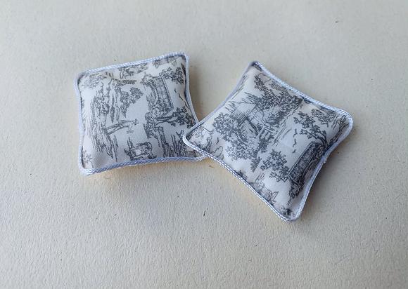 Pair of Silk Cushions by Simply Silk