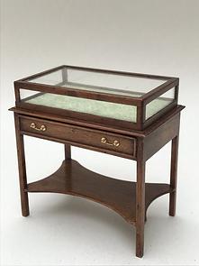 Glazed Display Table