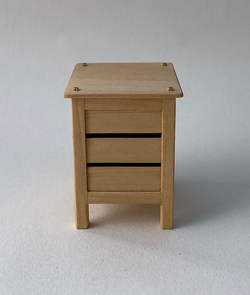 Modern Rustic  Chest with 3 Drawers