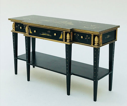 Ebonised Sidetable