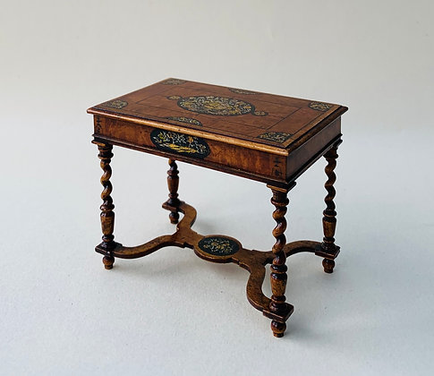 17th Century Painted Table with Barleytwist Legs.(Limited Edition)
