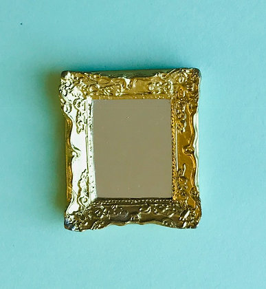 Small Ornate Gilt Mirror
