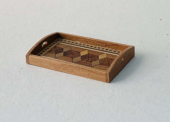 Inlaid Tray by Jacqueline Crosby