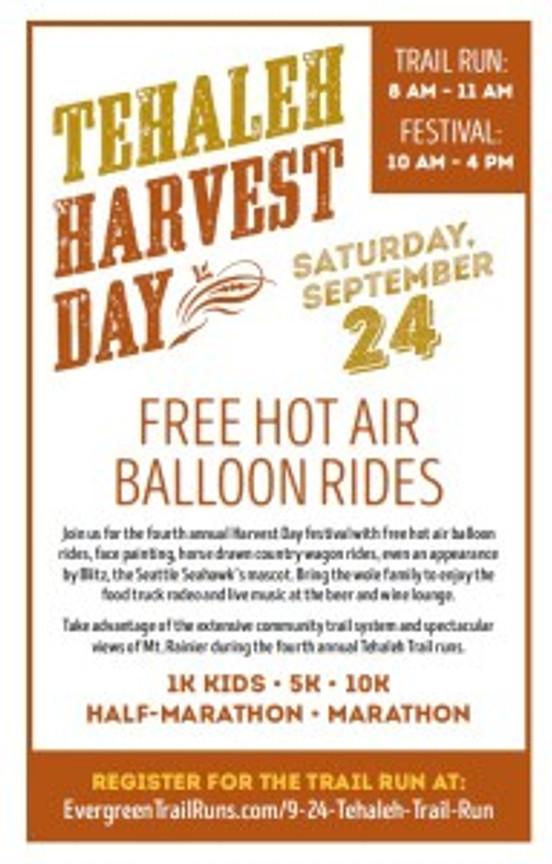 Tehaleh Harvest Day!