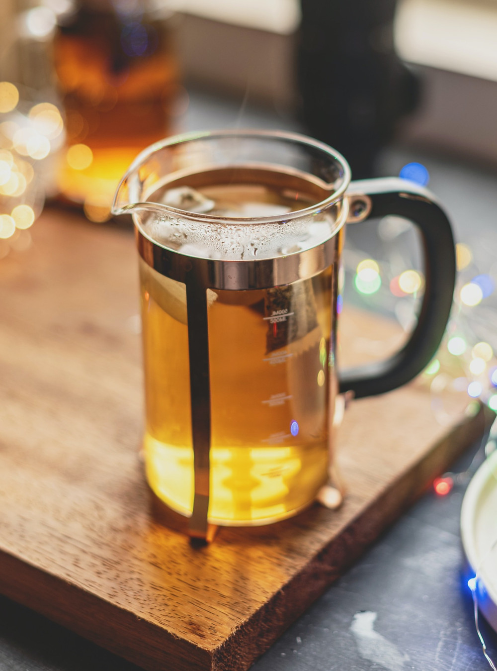 Brew your maté in a French press or teapot to discover the taste of maté.