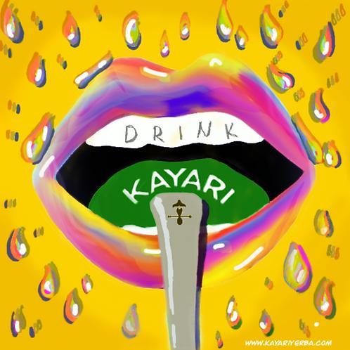 Sticker Drink Kayari