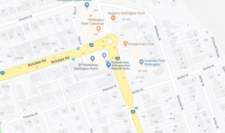 Wellington Point Map.JPG