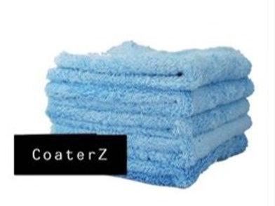 Blue Edgeless 450g Microfiber Towels