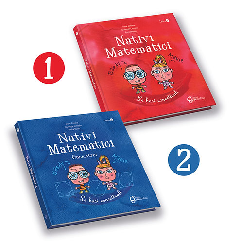 Set 2  volumi Nativi Matematici