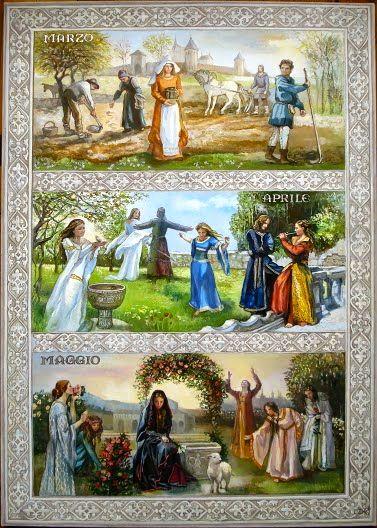 Il Calendario Medievale/La Primavera