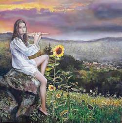 Melodija saulespuķei
