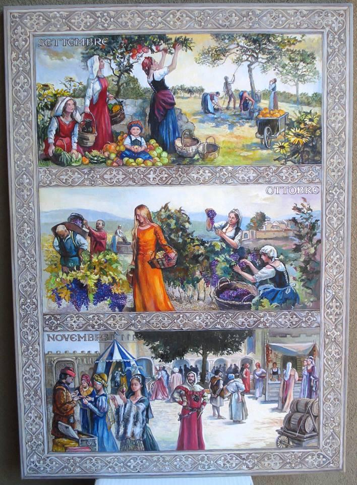 Il Calendario Medievale/Autunno