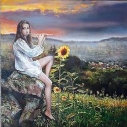 Šūpuļdziesma saulespuķei